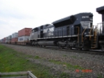 NS 2676 runs long hood forward EB